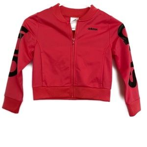 Adidas Toddlers Light Weight Bomber Jacket 5T